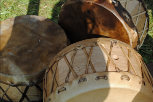 PowWow Drums ~ Ashley Mackinnon 2010