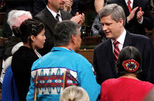 Prime Minister Stephen Harper at the Truth and Reconciliation Commission of Canada event in Ottawa June 2, 2015.