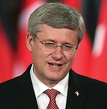 Stephen Harper - Conservative Prime Minister