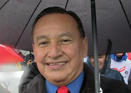 Grand Chief Stewart Phillip