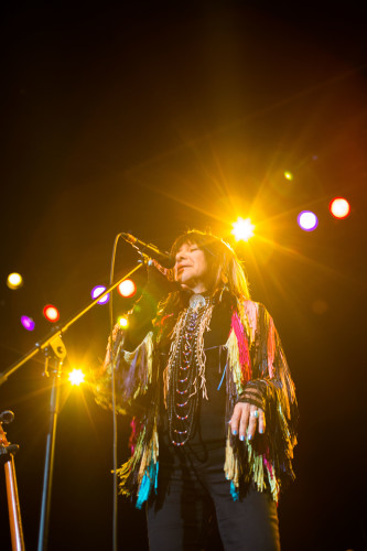 2016 Juno Award winner Buffy Sainte-Marie takes home Contemporary Roots Album of the Year and Aboriginal Album of the Year for _Power In the Blood_.