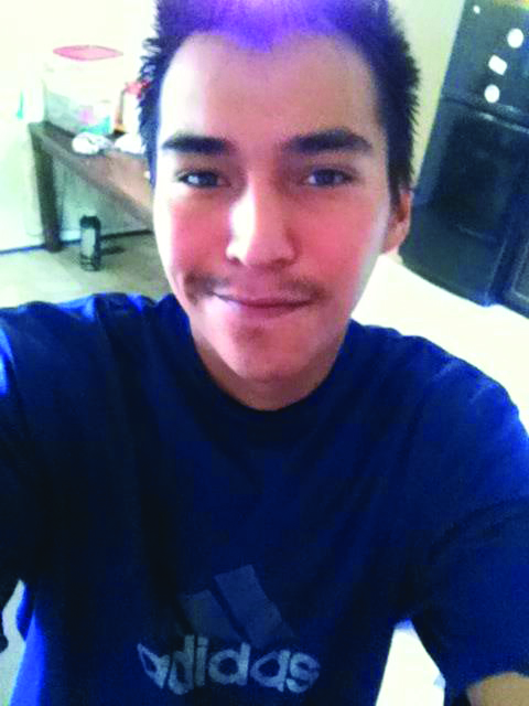 """""""ColtenBoushie"""" Caption: Boushie was 22 years old when he was fatally shot. Photo: Facebook"""