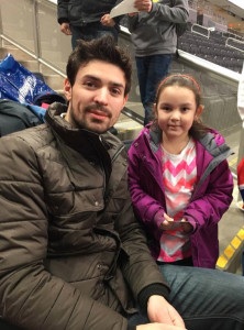 Carey Price spends time with Dawnie Favel