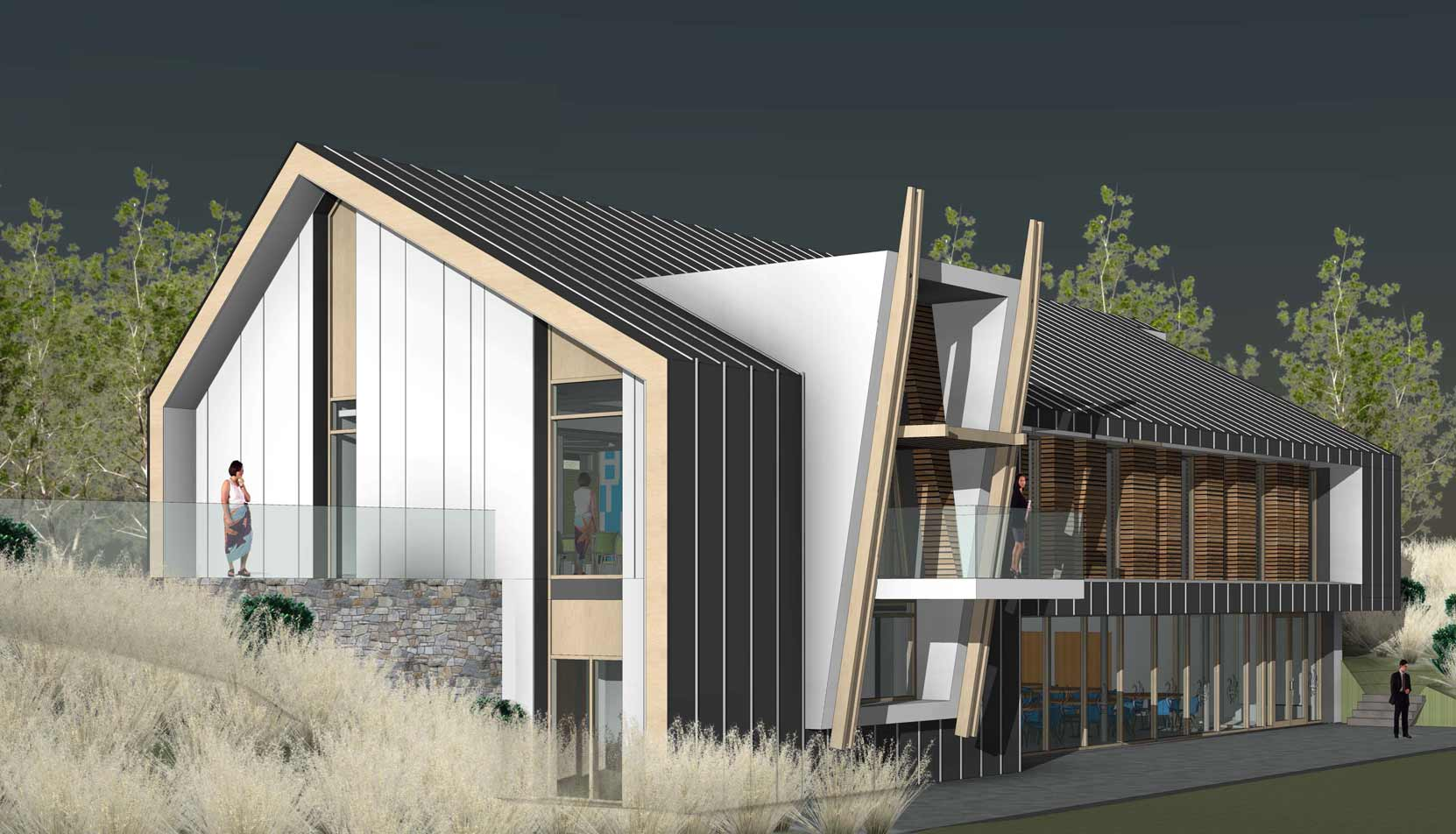 West Moberly Health Centre, Moberly Lake, BC (Image Credit: Iredale Architecture)