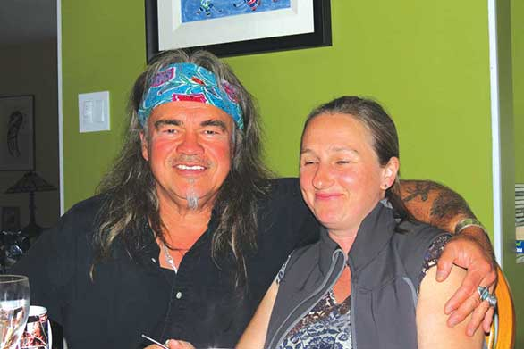 Danny and Alicja in Nanaimo BC photo by Pat Beaton