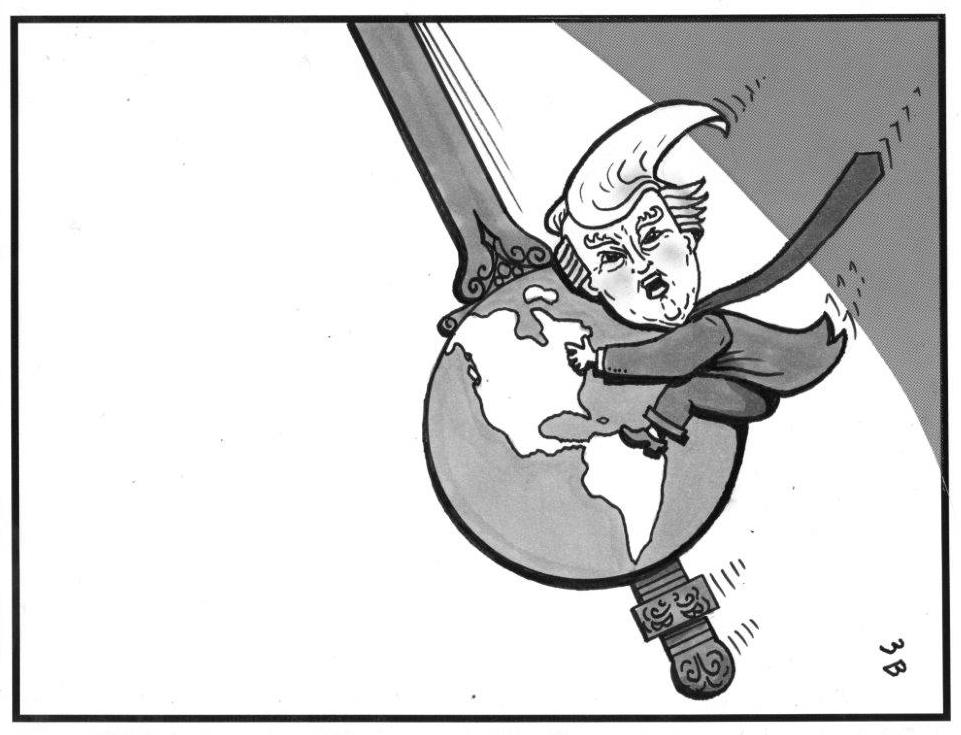 Donald Trump illustration