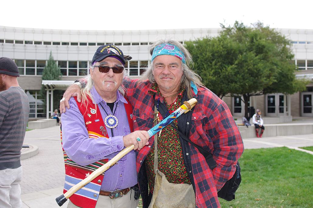 Robertjohn Knapp and Danny at Parliament of Worlds Religions Salt Lake City, Utah