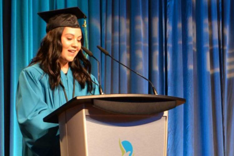 Makayla Laboucan. Photo by Northern Lakes College