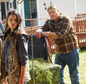 Through Black Spruce lead actors, Tanaya Betty (Annie) and Brandon Oaks (Will)